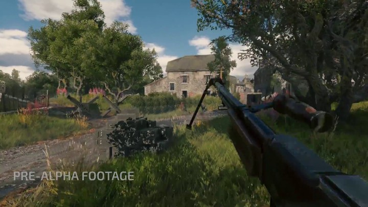 "Aperçu de la ""Bataille de Normandie"" de Enlisted"