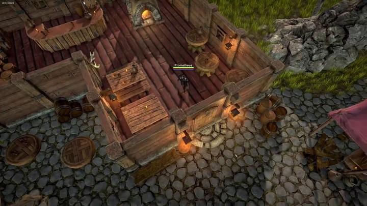 Fractured en Pré-alpha : construction de village à Syndesia