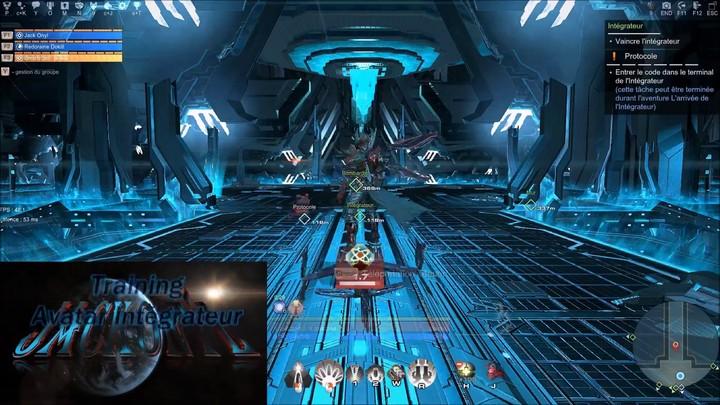 Aperçu du Training Avatar Mécanoide Intégrateur avec les 4 boss rétiaires sur Skyforge