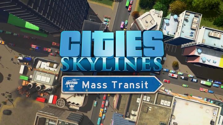 Bande annonce pour la version console de Cities: Skylines - Mass Transit