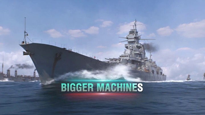 Bande annonce de World of Warships: Legends