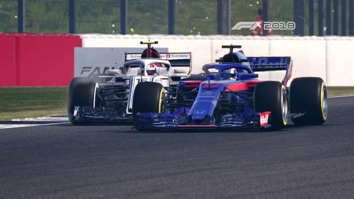 Un trailer de lancement pour la sortie de F1 2018