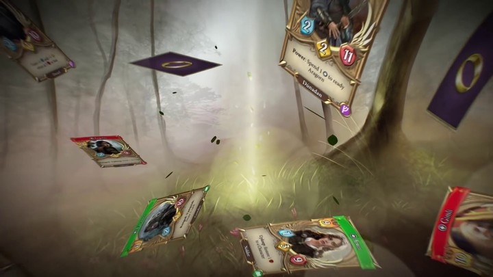 Bande-annonce d'accès anticipé de The Lord of the Rings: Living Card Game (VOSTFR)