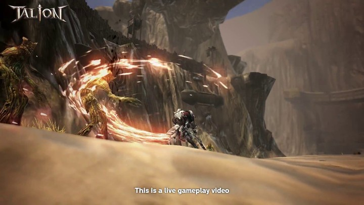 Aperçu du gameplay du MMORPG mobile Talion