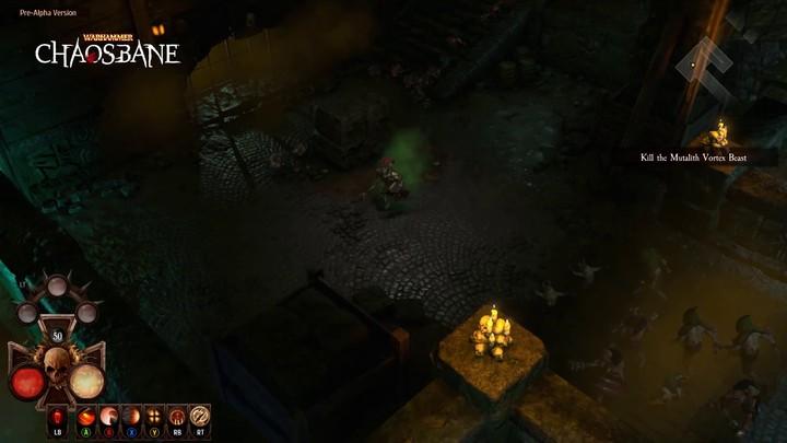 Premier aperçu du gameplay du hack & slash Warhammer Chaosbane