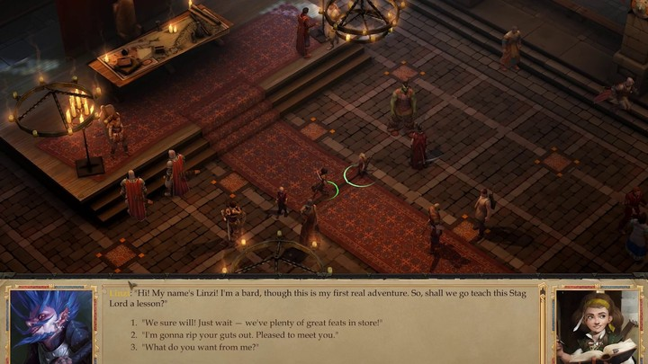 Aperçu du système de progression de Pathfinder: Kingmaker