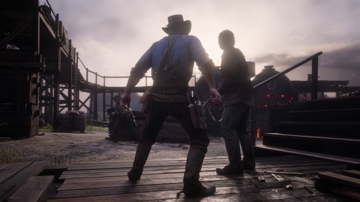 Présentation du gameplay d'action de Red Dead Redemption 2