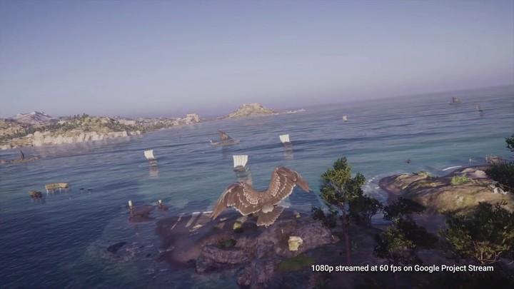Démonstration du Project Stream de Google : Assassin's Creed Odyssey