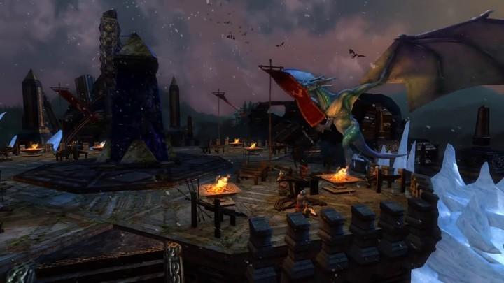 SdAO : seconde bande-annonce de la mise à jour 23 - Là où demeurent les Dragons