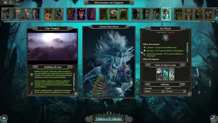 Premières minutes de jeu du nouveau DLC de Total War Warhammer 2