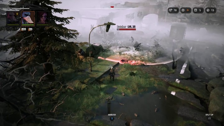 Gameplay : aperçu de la zone Scraplands de Mutant Year Zero: Road to Eden