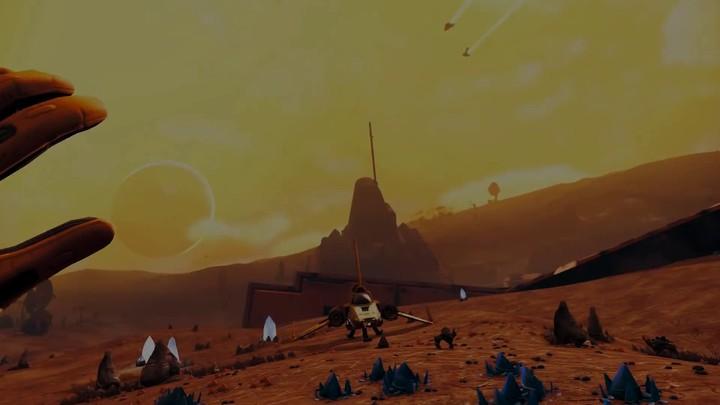 Aperçu de No Man's Sky en réalité virtuelle