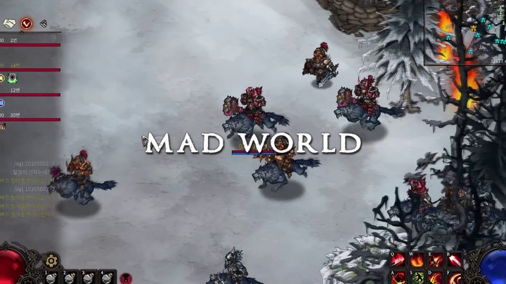 Aperçu du gameplay de Mad World (2019)