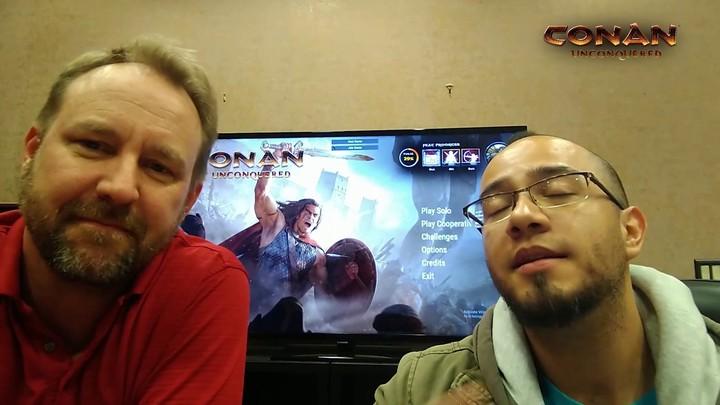 Défier les développeurs de Conan Unconquered