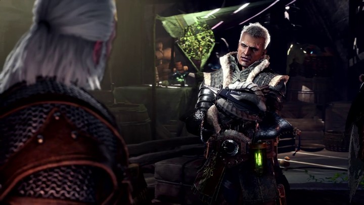 Geralt de Riv (The Witcher) s'invite dans Monster Hunter World