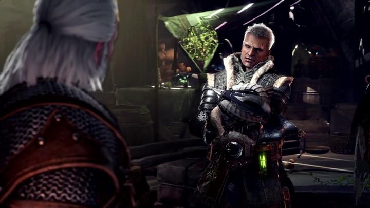 Geralt de Riv (The Witcher) s'invite dans Monster Hunter World