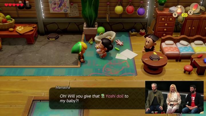 E3 2019 - Link's Awakening montre son gameplay