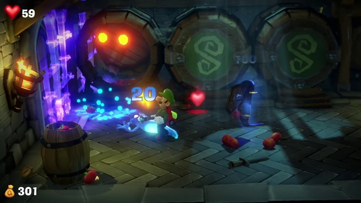 E3 2019 - Luigi's Mansion 3 détaille son gameplay
