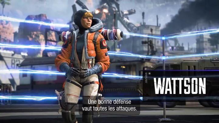 """Aperçu du gameplay de Natalie """"Wattson"""" Paquette dans Apex Legends"""