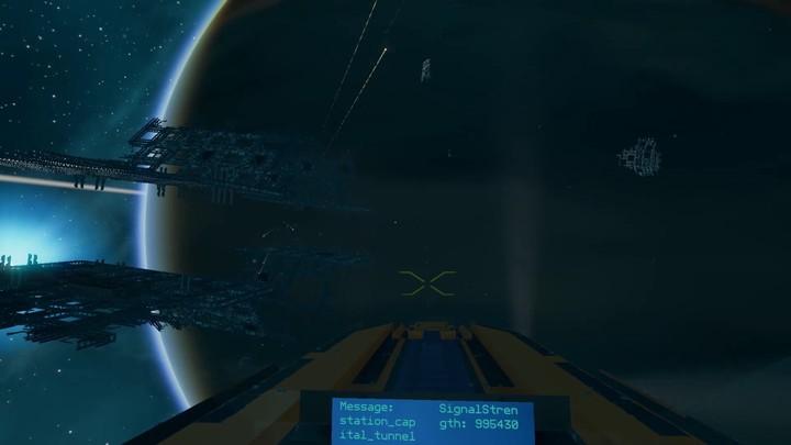 Gameplay brut d'un affrontement spatial dans le MMO Starbase