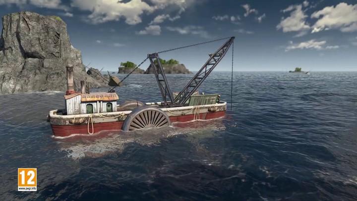 """Aperçu de """"Trésor Englouti"""", premier DLC d'Anno 1800"""