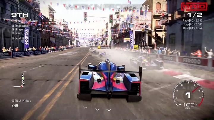 GRID montre son circuit de La Havane dans une séquence de gameplay