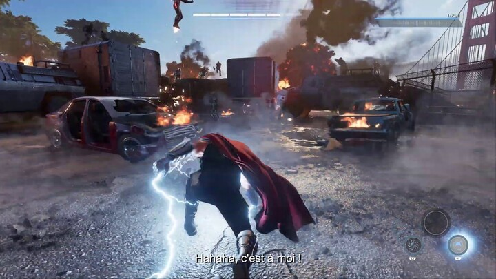 "Gameplay : aperçu du ""prologue de l'A-Day"" de Marvel's Avengers (VOSTFR)"
