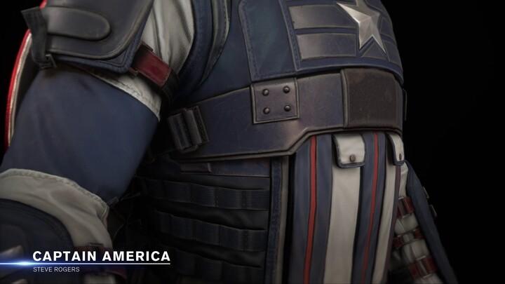 Aperçu du profil du Captain America de Marvel's Avengers
