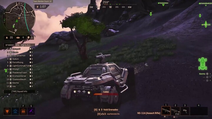 Premier aperçu du gameplay de PlanetSide Arena