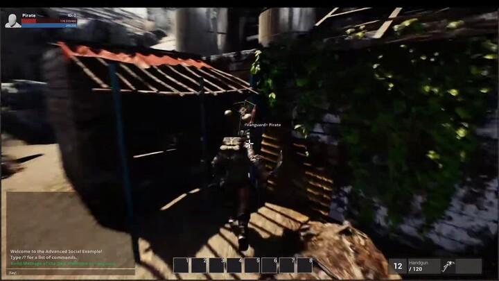 Premier aperçu du gameplay du shooter MMO post-apocalyptique Omni