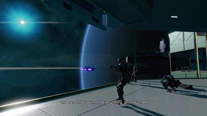 Présentation des stations spatiales du MMORPG Starbase