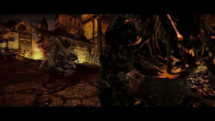 Cinématique de présentation du Gunslinger de Kingdom Under Fire II