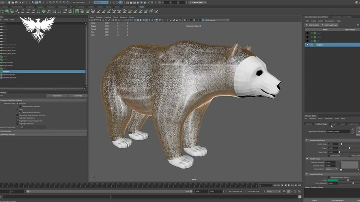 Monture : aperçu de l'ours porteur de charge d'Ashes of Creation