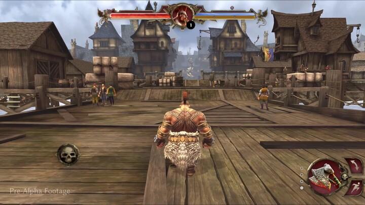 Aperçu de la cité de Marienburg dans le MMORPG mobile Warhammer Odyssey