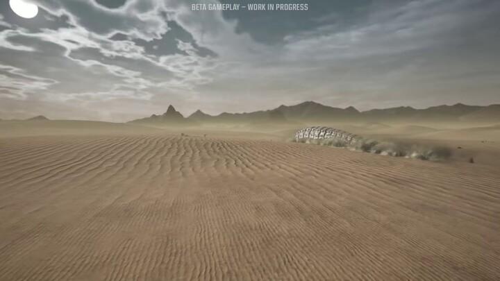 Journal de développement : les vers des sables géants de Last Oasis