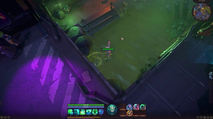 Premier aperçu du gameplay du MMORPG Corepunk
