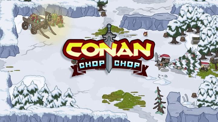 Bande-annonce hivernale de Conan Chop Chop