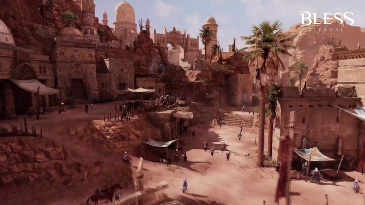 Première bande-annonce du MMORPG mobile Bless Eternal
