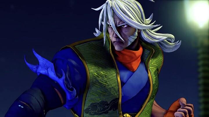Bande-annonce de lancement de Street Fighter V