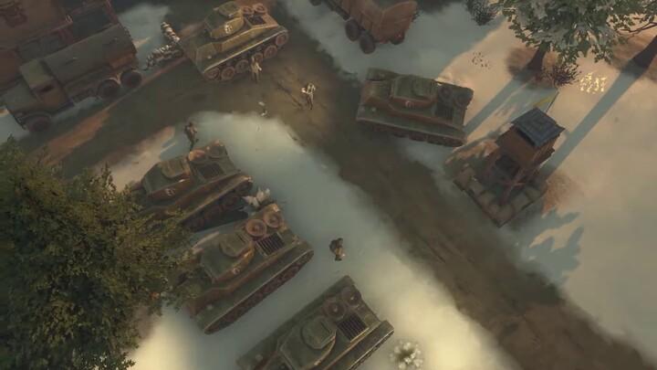 Le gameplay en chars de combat sur Foxhole