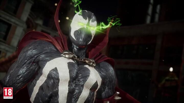 Spawn se dévoile dans Mortal Kombat 11