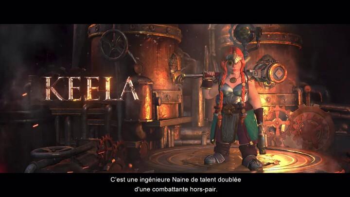 Aperçu du gameplay de l'ingénieure naine Keela de Warhammer: Chaosbane