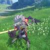 Aperçu du gameplay du guerrier Aegis de Blue Protocol