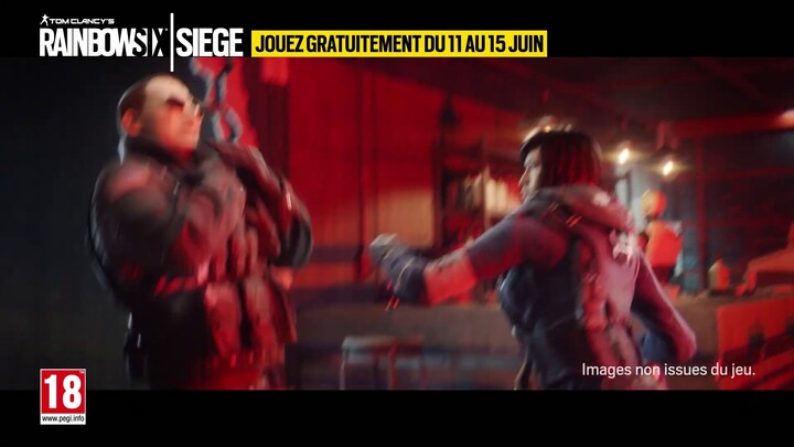 Un week-end gratuit sur Tom Clancy's Rainbow 6 Seige à partir du 11 juin
