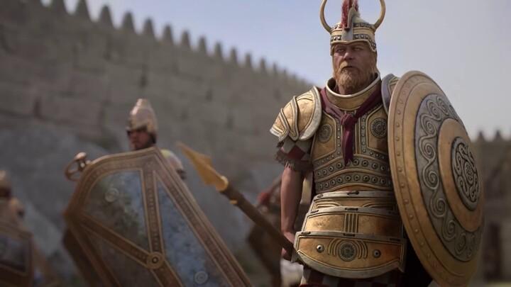 Présentation de Ménélas dans Total War Saga: Troy