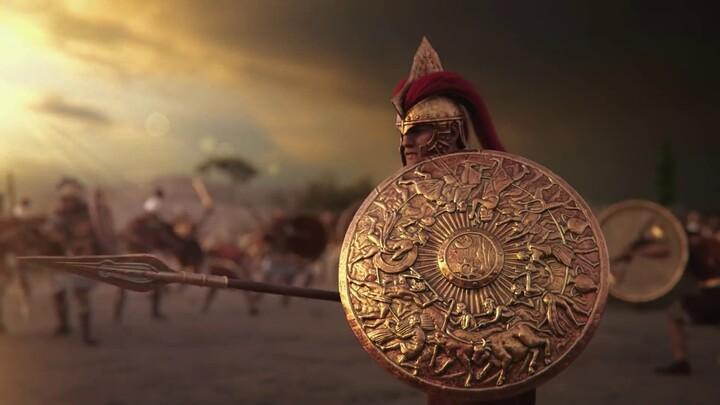 Présentation d'Achille dans Total War Saga: Troy