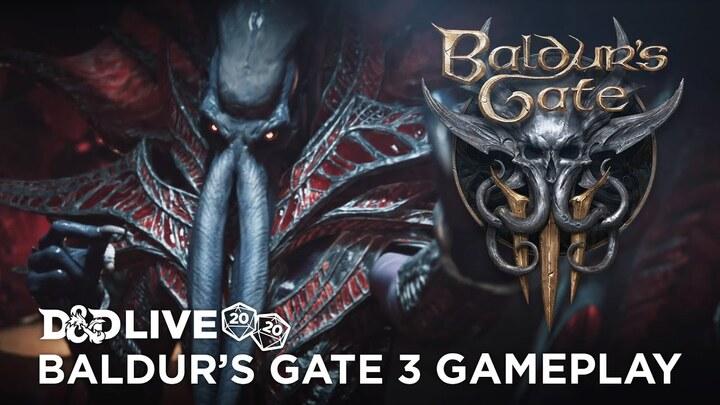 1h30 de gameplay pour Baldur's Gate III