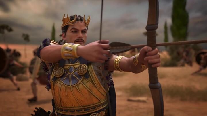 Présentation de Pâris dans Total War Saga: Troy