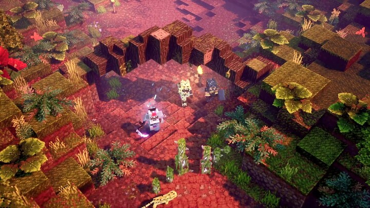 Le premier DLC de Minecraft Dungeons, L'Eveil de la Jungle, est disponible