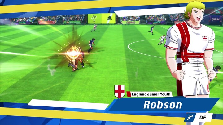 Aperçu de l'équipe d'Angleterre dans Captain Tsubasa: Rise of New Champions
